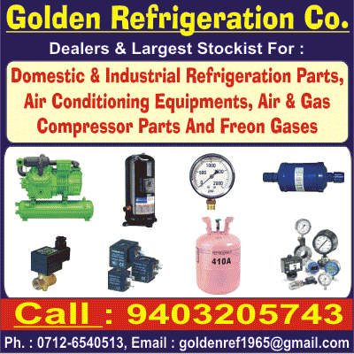 GOLDEN REFRIGERATION CO.