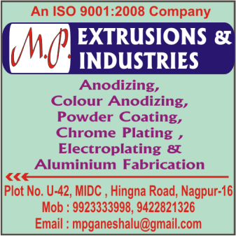 M P EXTRUSIONS AND INDUSTRIES