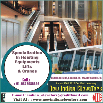 New Indian Elevators Nagpur - Lifts Contractors Engineers