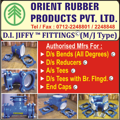 ORIENT RUBBER PRODUCTS PVT LTD