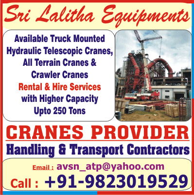 SRI LALITHA EQUIPMENTS